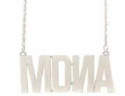 MDNA  - FAN CLUB EXCLUSIVE (WHITE GOLD) NECKLACE